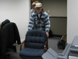 Volunteers Move Furnishings