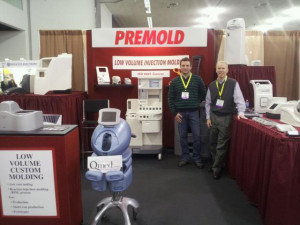 Premold Corp has experts in RIM at the BIOMEDevice trade show and are available to answer questions you may have.