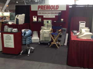 BIOMEDevice trade show - Reaction Injection Molded parts