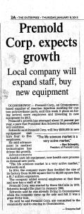 enterprise article Premold Corp cr