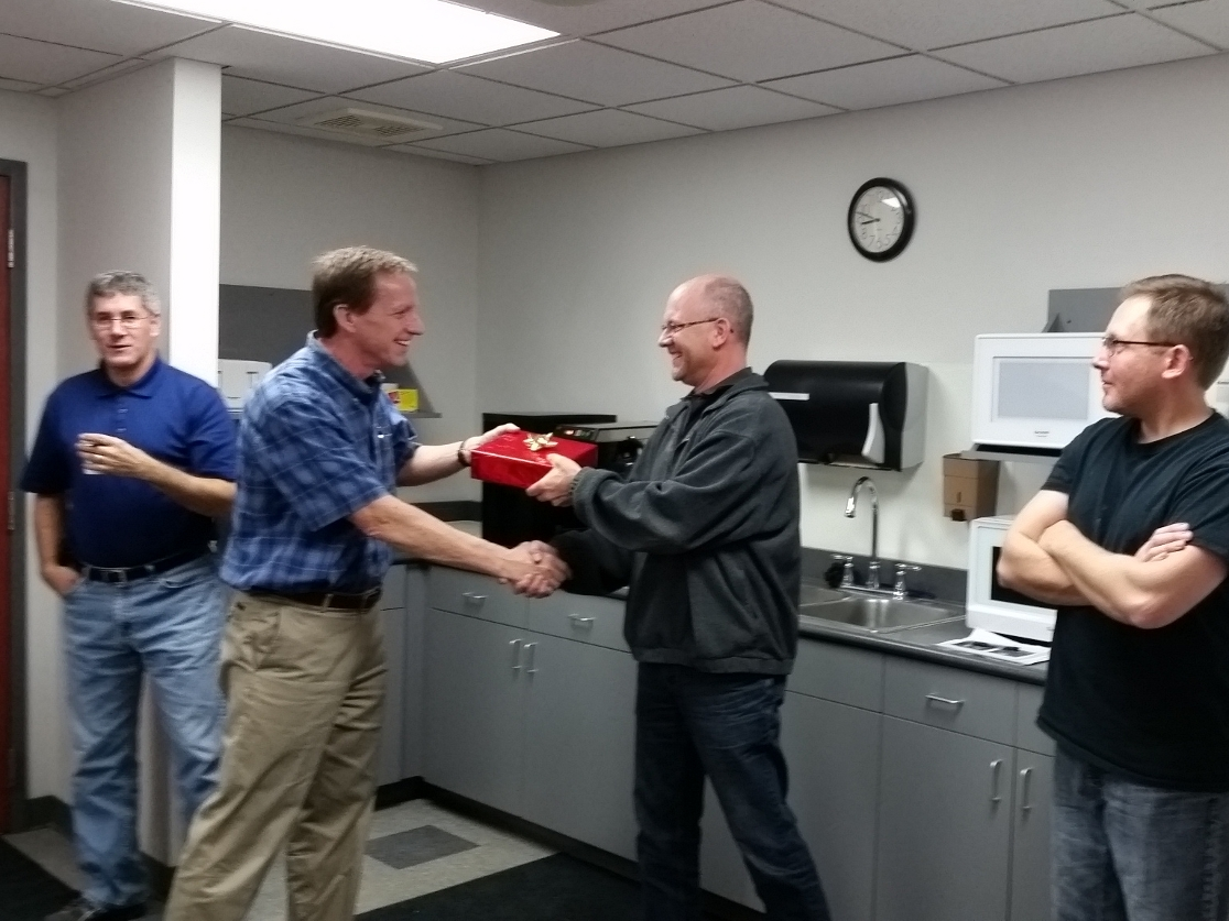 VP of Engineering -  Recognized for 10 years of service